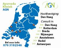 ayurveda-agn-kliniek-kaart-nederland