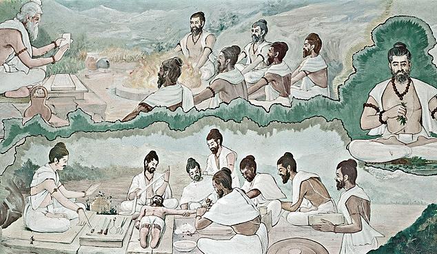 Geschiedenis-Ayurveda
